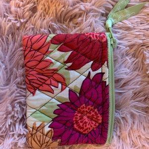 Vera Bradley wallet coin purse